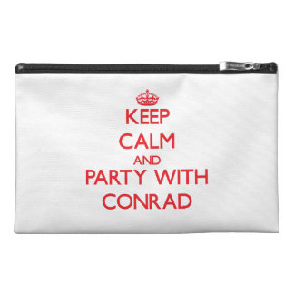 Keep calm and Party with Conrad Travel Accessories Bags