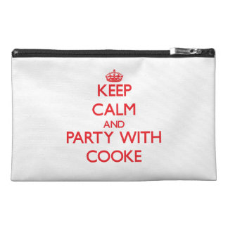Keep calm and Party with Cooke Travel Accessories Bag
