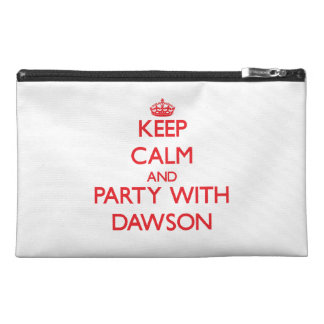 Keep calm and Party with Dawson Travel Accessories Bags