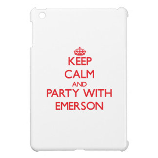 Keep calm and Party with Emerson Case For The iPad Mini
