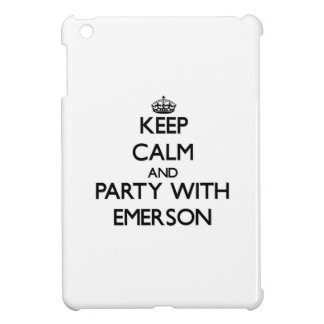 Keep calm and Party with Emerson iPad Mini Cases