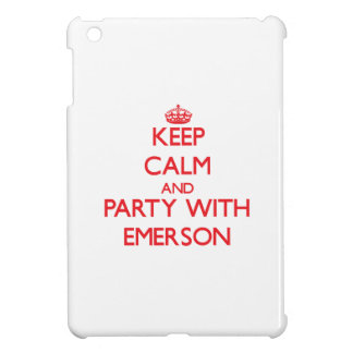 Keep calm and Party with Emerson iPad Mini Covers