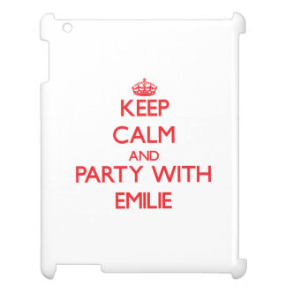 Keep Calm and Party with Emilie iPad Cases