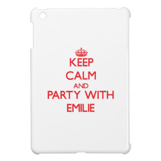 Keep Calm and Party with Emilie iPad Mini Cover