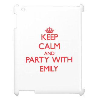Keep Calm and Party with Emily iPad Cases