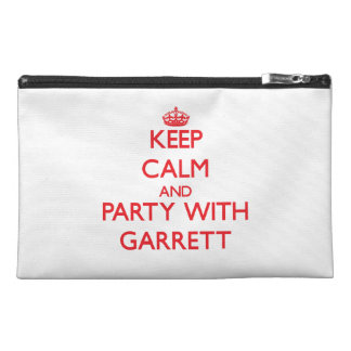 Keep calm and Party with Garrett Travel Accessory Bag