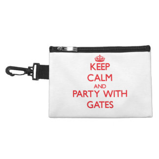 Keep calm and Party with Gates Accessories Bags