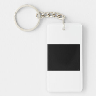 Keep calm and Party with Goodwin Double-Sided Rectangular Acrylic Keychain