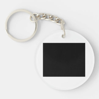 Keep calm and Party with Goodwin Single-Sided Round Acrylic Keychain