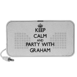 Keep calm and Party with Graham Portable Speakers
