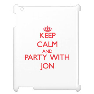 Keep calm and Party with Jon Case For The iPad 2 3 4