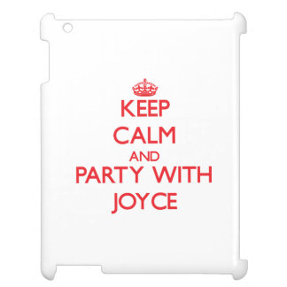 Keep calm and Party with Joyce Case For The iPad 2 3 4
