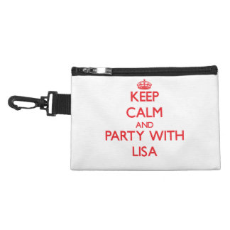 Keep Calm and Party with Lisa Accessories Bag
