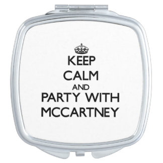 Keep calm and Party with Mccartney Mirrors For Makeup