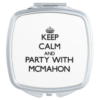 Keep calm and Party with Mcmahon Vanity Mirrors