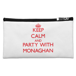 Keep calm and Party with Monaghan Cosmetic Bag