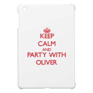 Keep calm and Party with Oliver Cover For The iPad Mini
