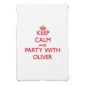 Keep calm and Party with Oliver iPad Mini Cover