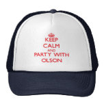 Keep calm and Party with Olson Trucker Hat