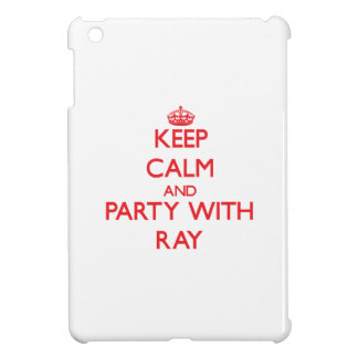 Keep calm and Party with Ray iPad Mini Cases