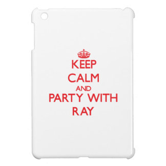 Keep calm and Party with Ray iPad Mini Cover
