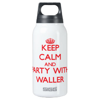 Keep calm and Party with Waller SIGG Thermo 0.3L Insulated Bottle