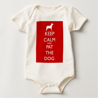 Keep calm and Pat the Dog! Bodysuits