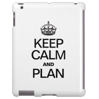 KEEP CALM AND PLAN