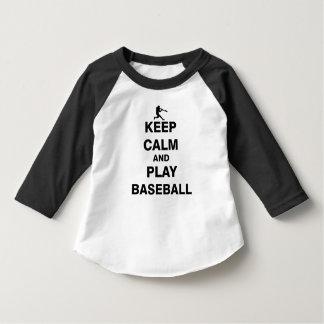 Keep Calm and Play Baseball T-Shirt