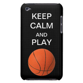 Keep Calm and Play Basketbal Form Factor iPod Case Case-Mate iPod Touch Case