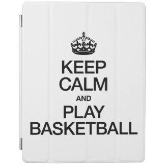 KEEP CALM AND PLAY BASKETBALL iPad COVER