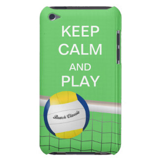 Keep Calm and Play Beach Volleyball iPod Case