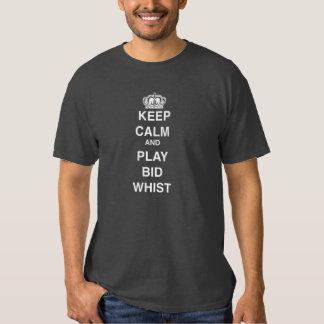 Keep Calm and Play Bid Whist T-shirt