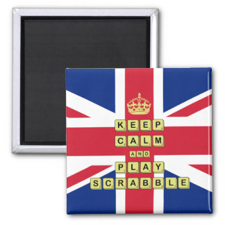 Keep Calm And Play Board Games Magnet