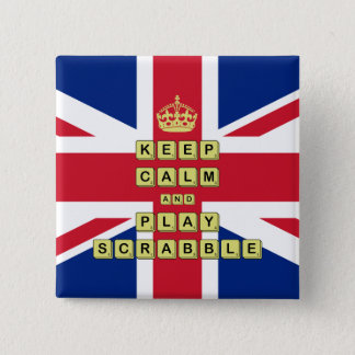 Keep Calm And Play Board Games Pinback Button