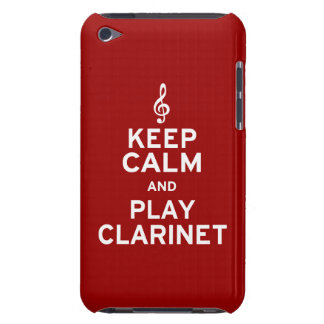 Keep Calm and Play Clarinet iPod Case-Mate Case