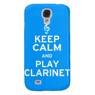 Keep Calm and Play Clarinet Galaxy S4 Cover
