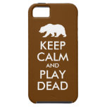 Keep Calm and Play Dead Cover For iPhone 5/5S