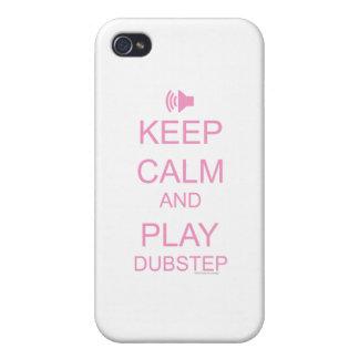 KEEP CALM and PLAY DUBSTEP iPhone 4 Case
