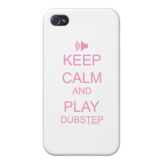 KEEP CALM and PLAY DUBSTEP iPhone 4 Case