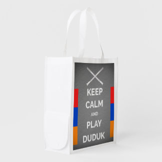 Keep Calm And Play Duduk Bag