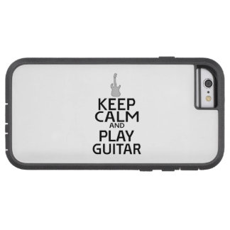 Keep Calm and Play Electric Guitar - Custom Color iPhone 6 Case