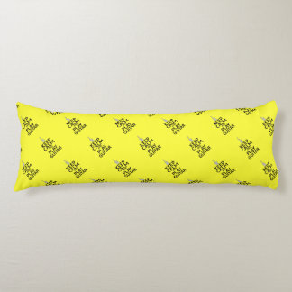Keep Calm and Play Electric Guitar - on Yellow Body Pillow