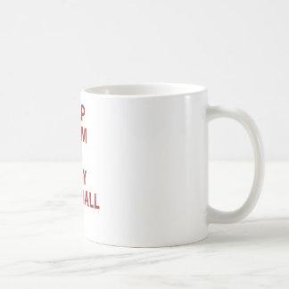 Keep Calm and Play Football Coffee Mug