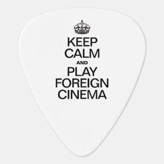 KEEP CALM AND PLAY FOREIGN CINEMA GUITAR PICK