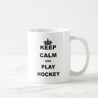KEEP CALM AND PLAY HOCKEY.png Coffee Mug