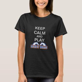 Keep Calm and Play Ladies' Tee