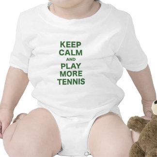 Keep Calm and Play More Tennis T-shirt