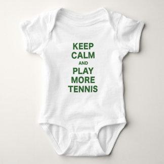 Keep Calm and Play More Tennis Tshirt