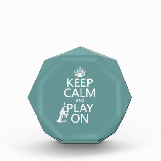 Keep Calm and Play On (cornet)(any color) Award